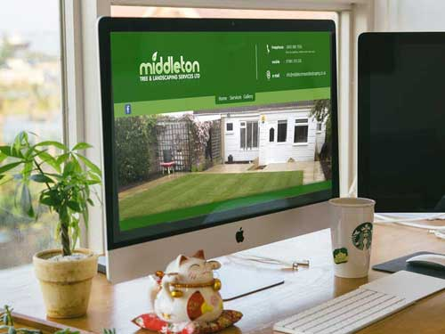 Middleton Tree and Landscaping Website